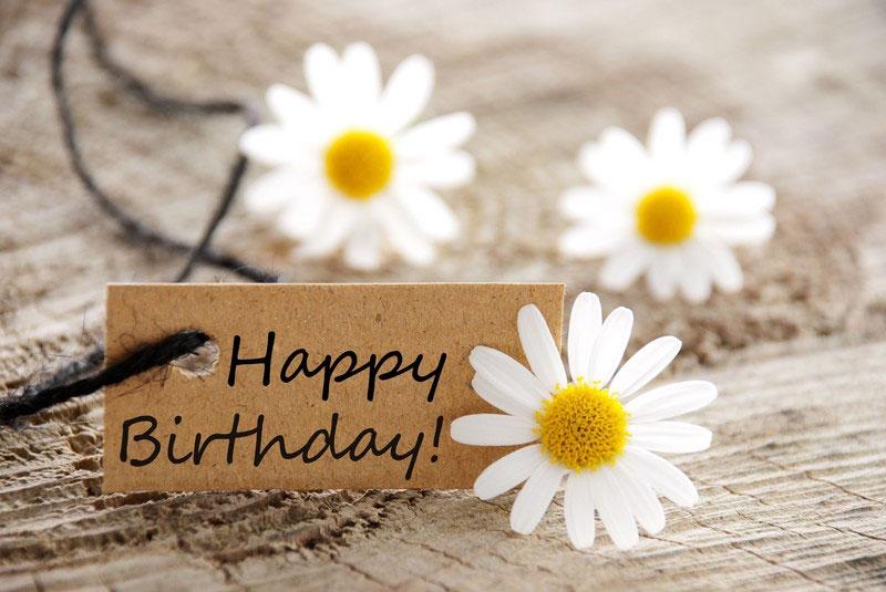 hjertelig tillykke med fødselsdagen håber