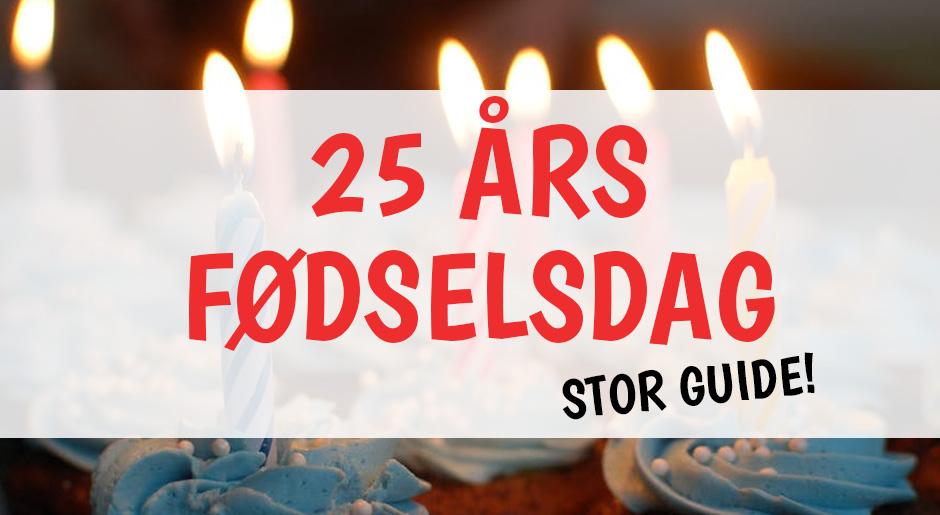 25 års fødselsdag